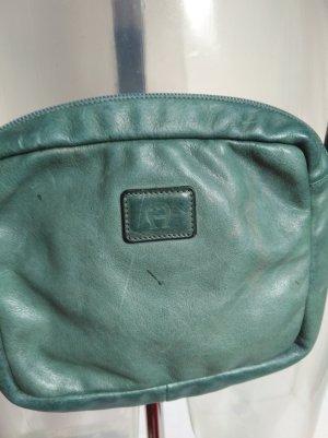 Aigner Crossbody bag turquoise-cadet blue leather