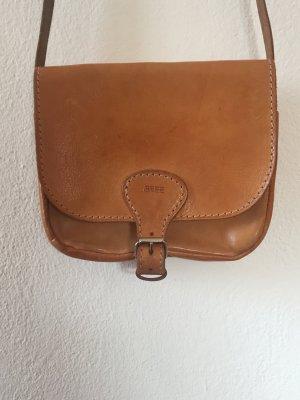 Vintage Umhängetasche BREE aus Echt-Leder