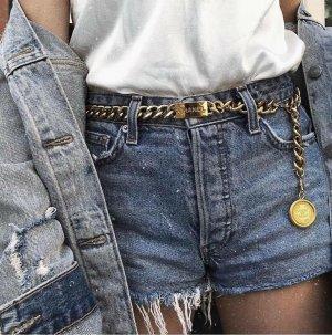 Chanel Cintura con catena oro