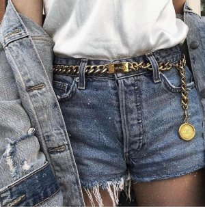 Chanel Chain Belt gold-colored