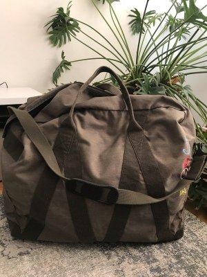 Vintage Weekender Urlaubstasche Reisetasche Trainingstasche XXL