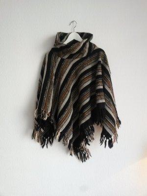Vintage Woll-Poncho von Pirkko Mäki für Arolan Kutomo Finnland