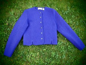 Giacca di lana lilla
