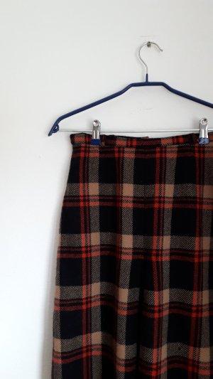 Vintage Tweed rok veelkleurig