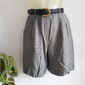 Vintage Pantaloncino a vita alta multicolore