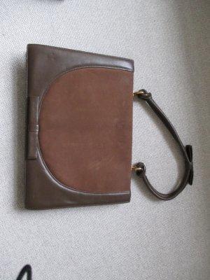 Vintage: Wunderschöne Tasche aus Glatt- und Rauleder