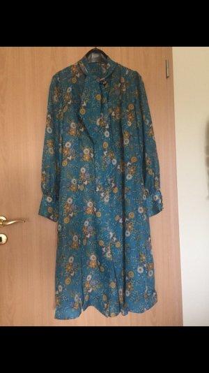 Vintage: Wunderschönes Kleid mit Blumenmuster, Größe 40/42