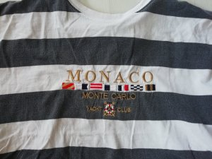 Vintage Yacht Monaco Shirt L Oversize