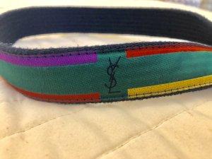 Vintage YSL multicolor Gürtel