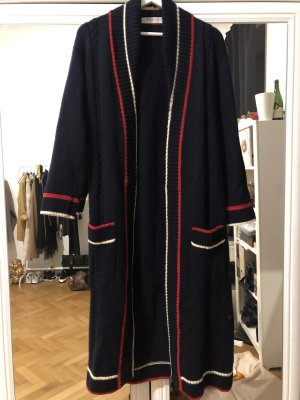 Yves Saint Laurent Long Knitted Vest multicolored