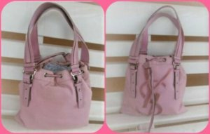 Yves Saint Laurent Shopper dusky pink-pink mixture fibre