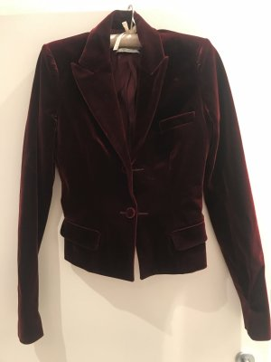 Vintage Yves Saint Laurent Samt Jacket