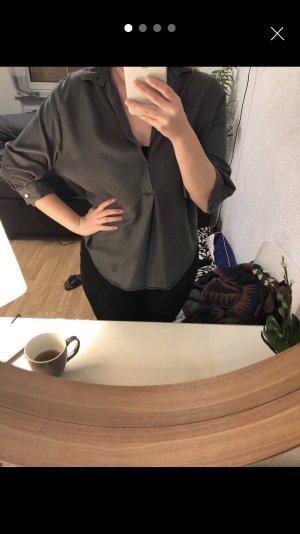 Vintage Zara Bluse grau, L
