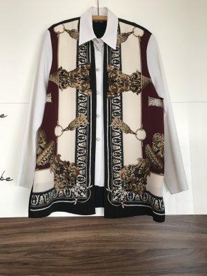 Vintagebluse im twinsetlook Kimono