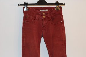 Low-Rise Trousers carmine