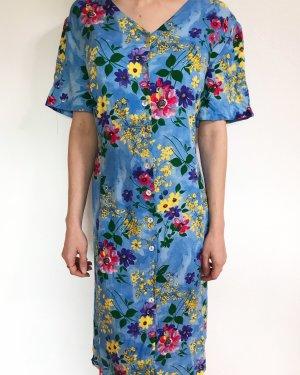 Vintagekleid mit Blumenmuster aus Viskose