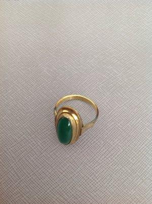 Gouden ring goud-bos Groen