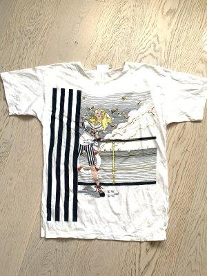 Femini Camiseta estampada blanco