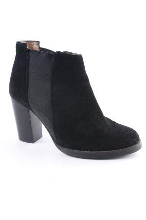 Violeta Absatz Stiefel schwarz klassischer Stil