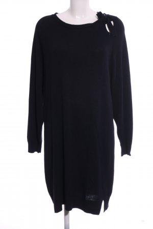 Violeta Sweater Dress black casual look