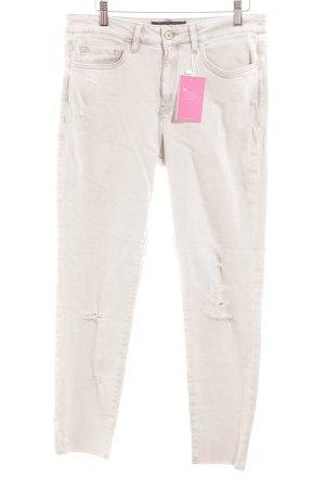 Violeta Skinny Jeans hellgrau Casual-Look