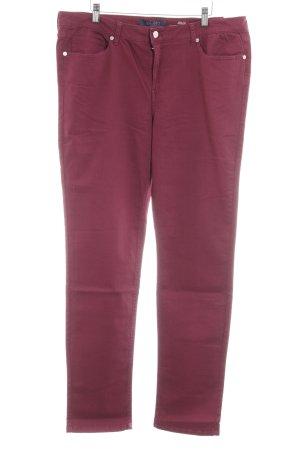 Violeta Slim Jeans purpur Casual-Look