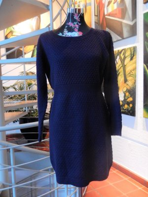 Sweater Dress dark violet