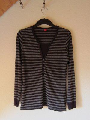 Esprit Pijama gris-violeta amarronado Algodón