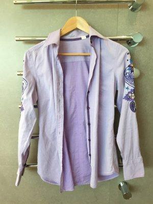 Violette Bluse von van Laack in Größe 36