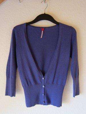 Next Cárdigan violeta azulado
