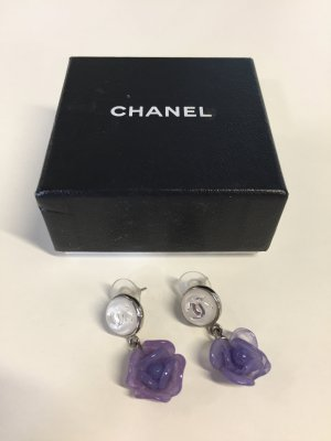 Chanel Pendant d'oreille multicolore