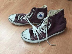 Violette Converse knöchelhoch