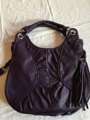 Yessica Pouch Bag brown violet