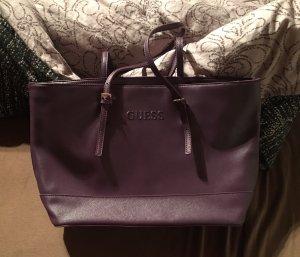 Guess Carry Bag dark violet