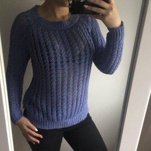 Violetter Pullover