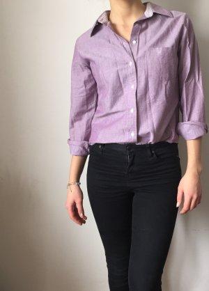 violettes Jeans Blusen-Hemd Daniel Hechter