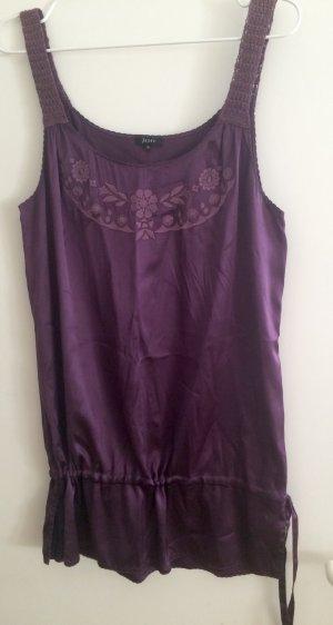 Violettes Longshirt aus Seide von Jones