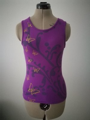 Sporttop lila-violet