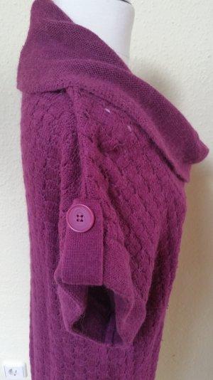 violettes Strickkleid