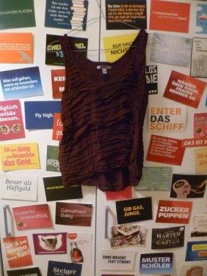 Violettes Top von Mango, Beere, Volant, Blogger, Vintage, Romance
