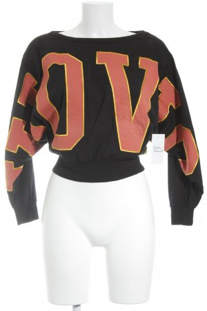 VioVio Sweat Shirt embroidered lettering casual look