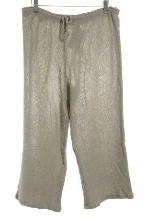 Virmani Falda pantalón de pernera ancha beige look Boho