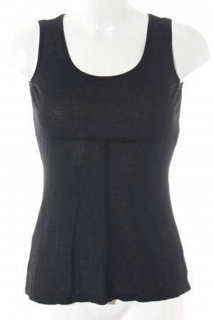 Virmani Tanktop schwarz Casual-Look