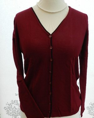 Knitted Cardigan bordeaux