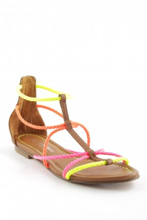 Visconti & du Réau Roman Sandals multicolored beach look