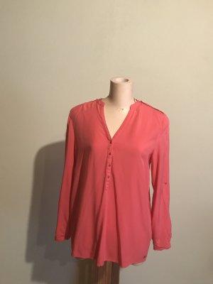 Viskose-Bluse in pink