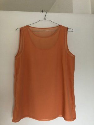 Blouse Top apricot viscose