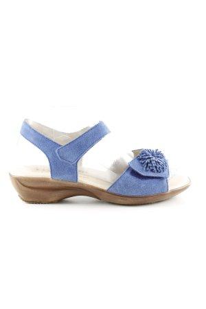 vitaform Comfort Sandals blue casual look