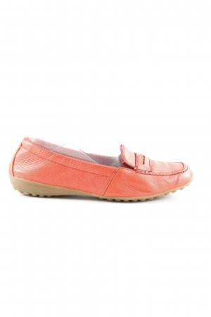 vitaform Mocassins orange clair style d'affaires