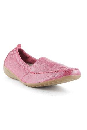 vitaform Mocassino rosa-rosa motivo astratto stile casual